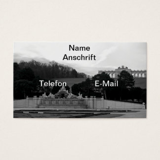 Visiting cards Vienna