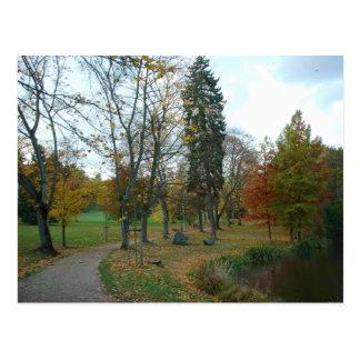 Visiting the Park Postcard
