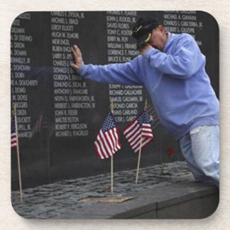 Visiting The Vietnam Memorial Wall, Washington DC. Coaster