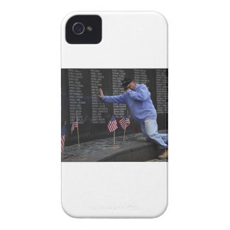 Visiting The Vietnam Memorial Wall, Washington DC. iPhone 4 Case