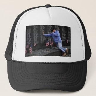 Visiting The Vietnam Memorial Wall, Washington DC. Trucker Hat