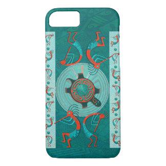 Visitors Anasazi Native Folk Art iPhone 7 Case