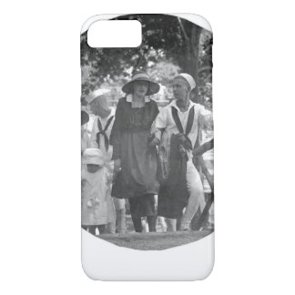 Visitors Day at the Naval Training _war image iPhone 7 Case