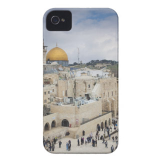 Visitors, Western Wall Plaza & Dome of the Rock iPhone 4 Covers
