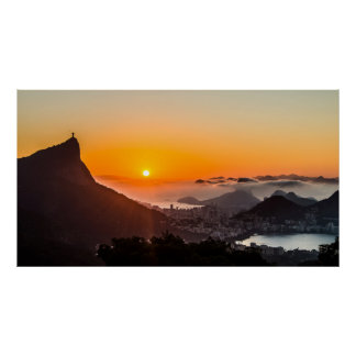 Vista Chinesa, Rio De Janeiro, Brasil Poster