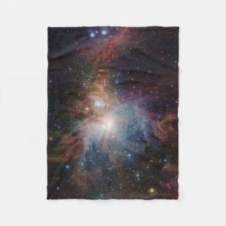 VISTA's infrared view of the Orion Nebula Fleece Blanket