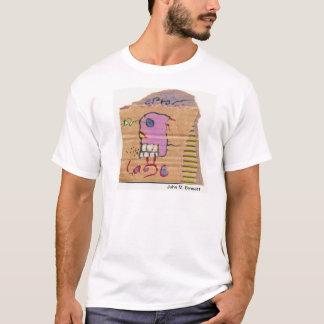 Visual Poetry by John M. Bennett T-Shirt
