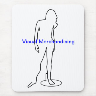 Visual  Standing Mannequin Mouse Pad