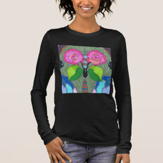 Visualize Butterfly Long Sleeve T-Shirt