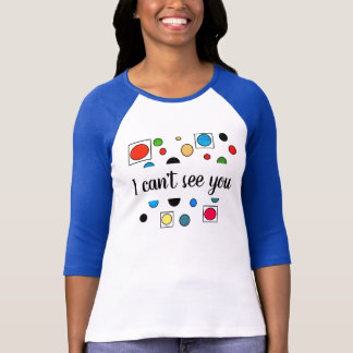 #visuallyimpaired t-shirt by DAL