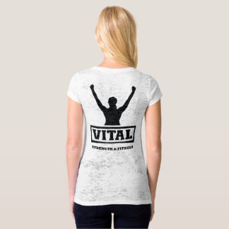 Vital Strength & Fitness Ladies top and Logo