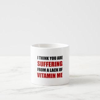 Vitamin Me Black.png Espresso Mug