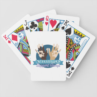 Vitiligo Support Group Bicycle Playing Cards