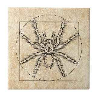Vitruvian Arachnid Tile