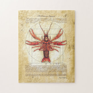 Vitruvian Crawfish Puzzle