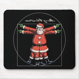 Vitruvian Holidays! Mouse Pad