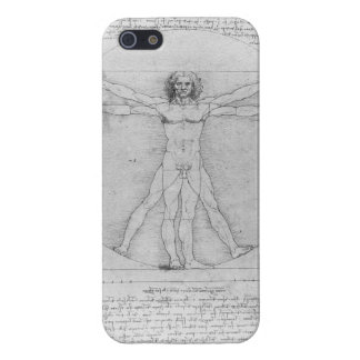 Vitruvian Man by Leonardo da Vinci Cover For iPhone 5/5S