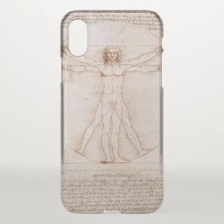 Vitruvian Man iPhone X Case