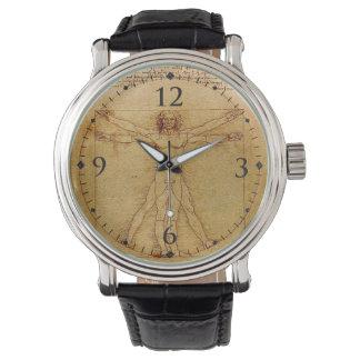 Vitruvian Man-Leonardo Da Vinci Wrist Watch