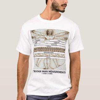 Vitruvian Man Measurements (Leonardo da Vinci) T-Shirt