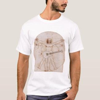 Vitruvian Man Rocks 2 T-Shirt