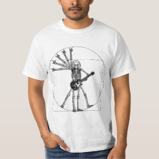Vitruvian Skeleton T-Shirt