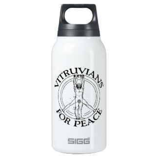 Vitruvians for Peace 0.3 Litre Insulated SIGG Thermos Water Bottle
