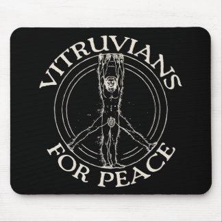 Vitruvians for Peace Mouse Pad