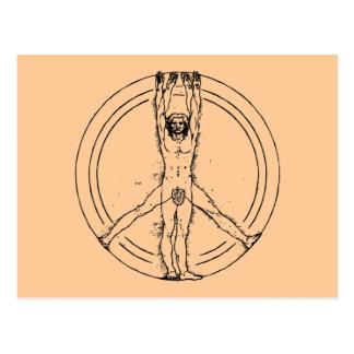 Vitruvians for Peace Postcard