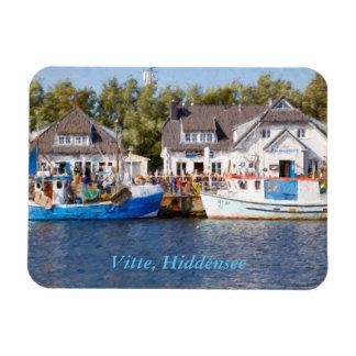 Vitte, Hiddensee Rectangular Photo Magnet