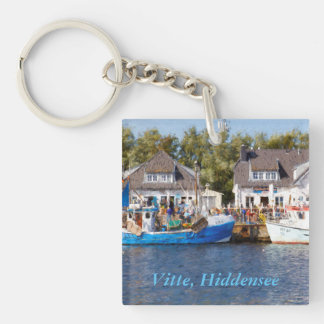 Vitte, Hiddensee Single-Sided Square Acrylic Key Ring