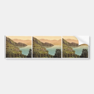 Vitznau railway Rigi Switzerland classic Photoc Bumper Sticker