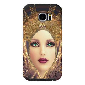 Viv beautiful IV monogram Samsung Galaxy S6 Cases