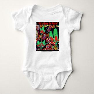 VIVA CINCO DE MAYO ART BABY BODYSUIT