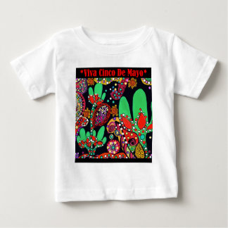 VIVA CINCO DE MAYO ART BABY T-Shirt