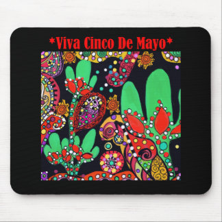 VIVA CINCO DE MAYO ART MOUSE PAD