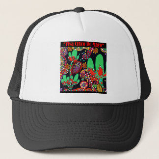 VIVA CINCO DE MAYO ART TRUCKER HAT