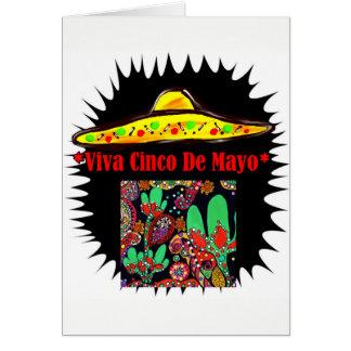 VIVA CINCO DE MAYO CARD