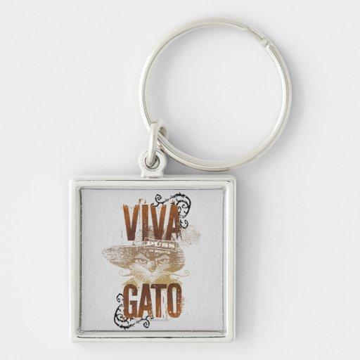 Viva Gato 2 Key Chains