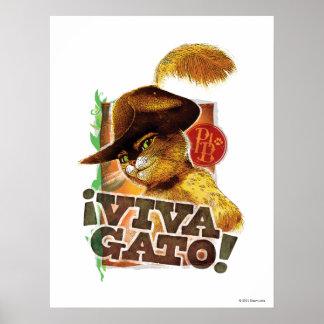Viva Gato! Print