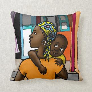 Viva Haiti - Custom Pillow Design