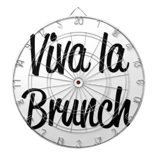 Viva La Brunch Dartboard