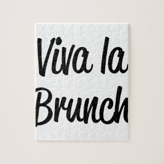Viva La Brunch Jigsaw Puzzle