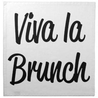 Viva La Brunch Napkin