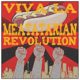 Viva La Meatatarian Revolution Photo Sculpture Decoration