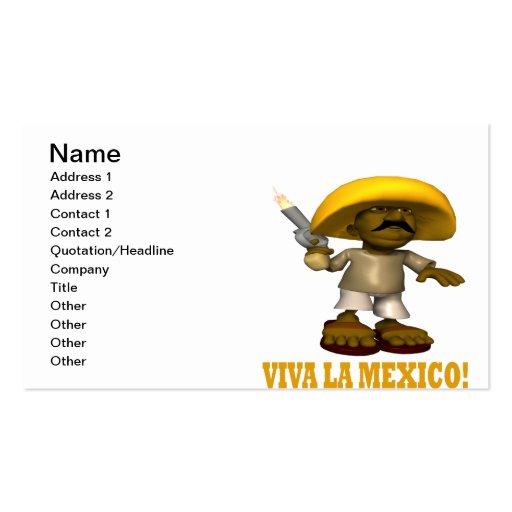 Viva La Mexico Business Card