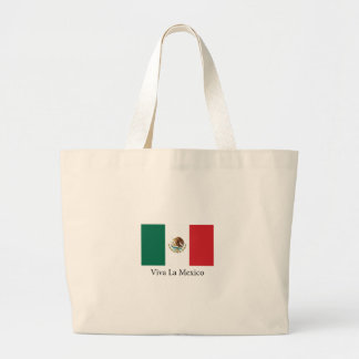 Viva la Mexico Large Tote Bag