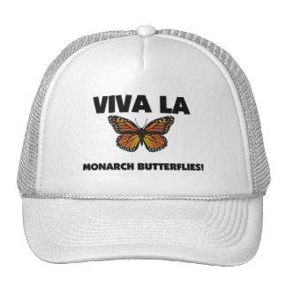 Viva La Monarch Butterflies Mesh Hat