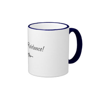 Viva La Resistance! Ringer Mug