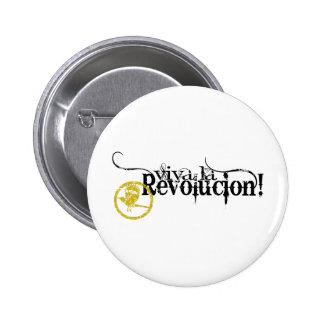 Viva La Revolucion Pinback Buttons